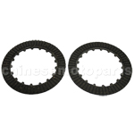 Manual Clutch Plate Set for 50cc-125cc ATV, Dirt Bike & Go Kart