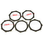 Clutch Plate Set for CG 125cc Air-cooled ATV, Dirt Bike & Go Kart