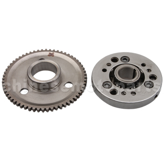 Over-running Clutch Assy for GY6 125cc-150cc ATV, Go Kart, Moped & Scooter