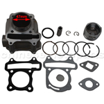 80cc Big bore kit chinese scooter moped atv 139qmb 50cc GY6 moped bbk 47mm