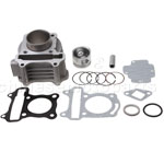 Cylinder Body Assembly for GY6 50cc Moped