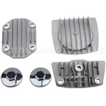 Cylinder Head Cover Set for 50cc-125cc ATV, Dirt Bike & Go Kart