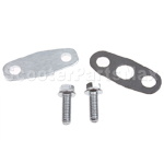 Second Air Injection Block Cover Set for 50cc-150cc Moped and 150-250cc Dirt Bikes,ATVs & Go-Karts