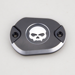 Harley Skull Black Cover For XL883 XL1200 X48 X72