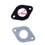 19mm Intake Gasket Spacer Pit Bike Pocket Bike ATV Quad Chinese X15 X18 PZ19 New