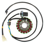 18-Coil Magneto Stator for CB250cc ATV, Dirt Bike & Go Kart