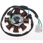 8-Coil AC-Magneto Stator for GY6 50cc Moped & Scooter