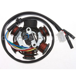 6-Coil Magneto Stator for GY6 150cc ATV, Go Kart, Moped & Scooter