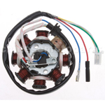 8-Coil Magneto Stator for GY6 150cc ATV, Go Kart, Moped & Scooter