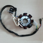 8 Coil Magneto Stator for 50cc Chinese GY6 Scooter With 3 Wire Plug and 2 Seperate Wires