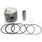 Piston Assembly for LIFAN 140cc Oil-Cooled Dirt Bike