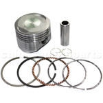 Piston Assembly for LIFAN 150cc Oil-Cooled Dirt Bike