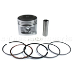 Piston Assembly for CG 125cc ATV, Dirt Bike & Go Kart