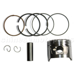 Piston Assembly for 90cc ATV, Dirt Bike & Go Kart