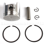 Piston Assembly for 2-stroke 47cc Pocket Bike