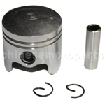 Piston for 2-stroke 49cc(44-5) Pocket Bike