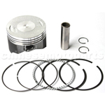 Piston Assy for CB250cc for Air-Cooled ATV, Dirt Bike & Go Kart