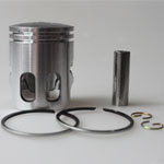 Piston Assy for 2-stroke 50cc Moped & Scooter