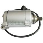 11-Teeth Starter Motor for CG 150cc-250cc Water-Cooled ATV,Go Kart & Dirt Bike