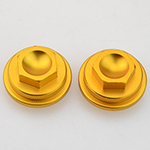 Gold CNC Valve Tappet Covers For 50cc 70cc 90cc 110cc Dirt Bike