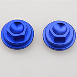 Blue CNC Valve Tappet Covers For 50cc 70cc 90cc 110cc Dirt Bike