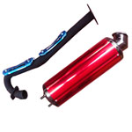 Home :: Parts by Series :: Mufflers :: Muffler Hose :: High Performace Muffler for ATV High Performace Muffler for ATV