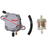 Fuel Pump Assembly for 50cc-250cc ATV, Go Kart & Scooter