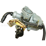 KEIHIN 19mm Carburetor of High Quality with Cable Choke for 110cc ATV, Dirt Bike & Go Kart