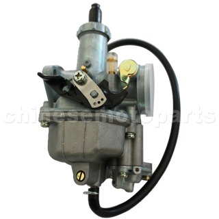 KEIHIN 27mm Hand Choke Carburetor of High Quality with Acceleration Pump for 125cc ATV, Dirt Bike & Go Kart