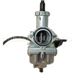 KEIHIN 30mm Carburetor of High Quality with Hand Choke for 200cc-250cc ATV, Dirt Bike & Go Kart