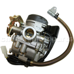 KEIHIN 18mm Carburetor of High Quality with Acceleration Pump for GY6 50cc Moped