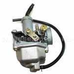 KEIHIN 26mm Carburetor with Hand Choke and 135°bend for 125cc ATV, Dirt Bike & Go Kart.