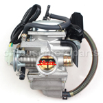 KEIHIN 24mm Carburetor of High Quality for GY6 125cc-150cc ATV, Go Kart, Moped & Scooter