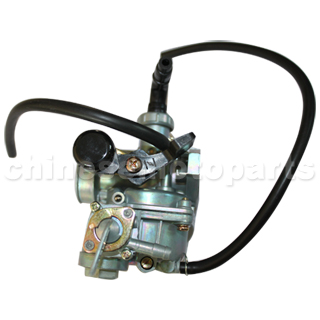19mm Hand Choke Carburetor of High Quality with Oil Switch for 50cc-110cc ATV, Dirt Bike & Go Kart