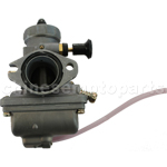 KUNFU 27mm Carburetor of High Quality with Pourplug Choke for 150cc-250cc ATV,Dirt Bike & Go Kart