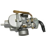 KUNFU 20mm Carburetor of High Quality with Hand Choke for 110cc ATV, Dirt Bike & Go Kart