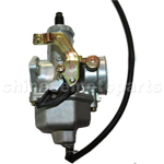 KUNFU 30mm Carburetor of High Quality with Cable Choke for CG/CB 200cc-250cc ATV, Dirt Bike & Go Kart