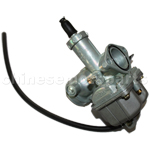KUNFU 26mm Carburetor of High Quality with Hand Choke for CB/CG 125cc ATV, Dirt Bike & Go Kart