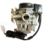 KUNFU 19mm Carburetor of High Quality with Acceleration Pump for GY6 50cc-90cc moped