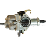 KUNFU 30mm Hand Choke Carburetor of High Quality with Acceleration Pump for CG/CB 200cc-250cc ATV, Dirt Bike & Go Kart