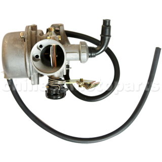 KUNFU 19mm Carburetor of High Quality with Cable Choke for 50cc-110cc ATV, Dirt Bike & Go Kart