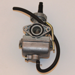 16mm Carburetor w/Hand Choke Lever 50cc 70cc ATV Quad Dirt Bikes Pit Bike Carb