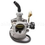 19mm Carburetor with Cable Choke for 50cc-110cc ATV, Dirt Bike &Go Kart