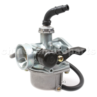 19mm Carburetor with Hand Choke for 50cc-110cc ATV, Dirt Bike & Go Kart