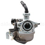 KFC19mm Hand Choke Carburetor of with Oil Switch for 50cc-110cc ATV, Dirt Bike & Go Kart