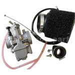 OKO 26mm Carburetor Assembly with flat valve for Dirt Bike & Motorcycle.