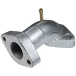 Intake Manifold Pipe with the second air-injection for 50cc-110cc ATV, Dirt Bike & Go Kart