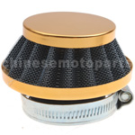 35mm Yellow Air Filter for 50cc-125cc ATV, Dirt Bike & Go Kart