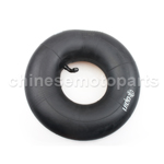 Brand New 2.5-4 Inner Tube with an angled valve stem.