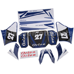 Decals for 50-125 Dirtbike-Blue No.27